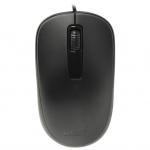 Компьютерная мышь, Genius, DX-125, Оптическая, 1000dpi, USB, Длина кабеля 1,6 метра, Черная
