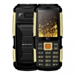 Мобильный телефон BQ-2430 Tank Power Чёрный+Серебро /