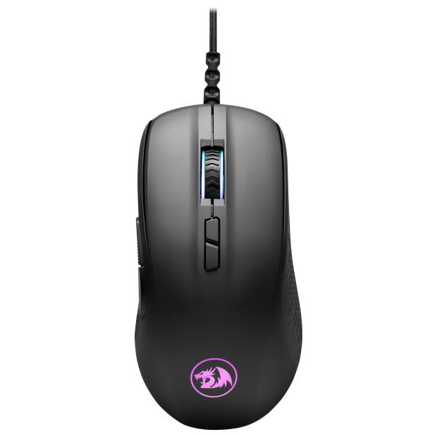 Мышь проводная игровая оптическая Redragon Stormrage (черный) USB, 7 кнопок, 10000 dpi, НОВИНКА!