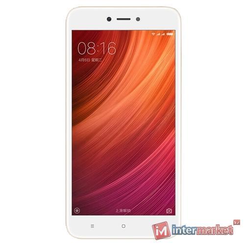 Смартфон Xiaomi Redmi Note 5A 2/16GB, Gold