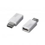 Зарядка USB Digitus DA-11004 charger, USB A -> USB A, white