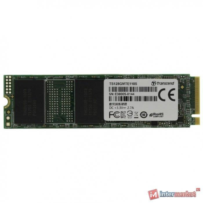 Твердотельный накопитель Transcend TS128GMTE110S 128 GB